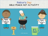 Father's Day Hole-Punch Art Activity