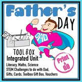 Father's Day: Integrated STEM Unit, Cards, Gifts, Activities #Distance Learning