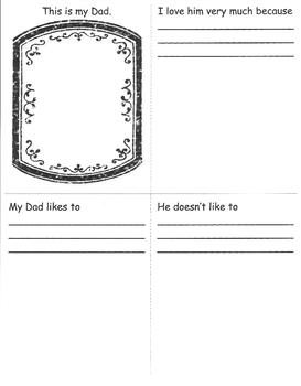 SUPERDAD Father's Day Keeper Minibooklet