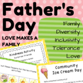 Father's Day - LOVE is a FAMILY: Lesson on Diversity, Inclusivity, Tolerance