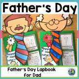 Father's Day Lap Book   Father's Day Activity   Father's Day Card