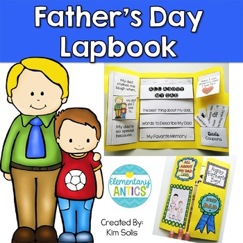 Father's Day Lapbook Activity