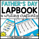 Father's Day Lapbook Keepsake Gift Writing Craftivity