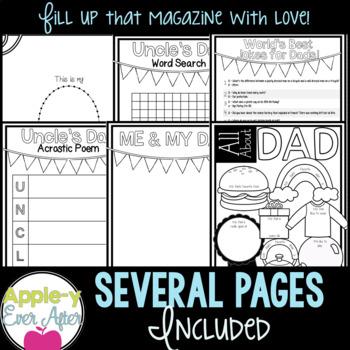 Father's Day Magazine - No Prep