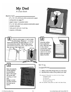 Father's Day: Making Books