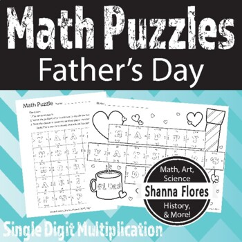 Father\'s Day Math Teaching Resources | Teachers Pay Teachers