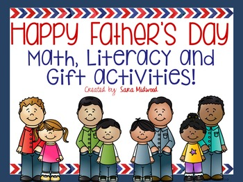Father's Day Math and Literacy Activities