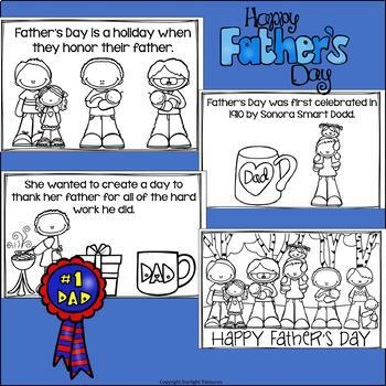 Father's Day Mini Book for Early Readers