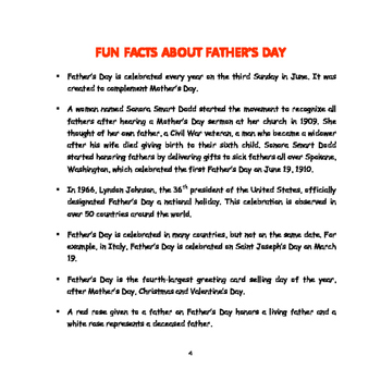 Father's Day- Mini Thematic Unit for Toddlers/Pre-K