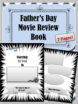 Father's Day Movie Review Book