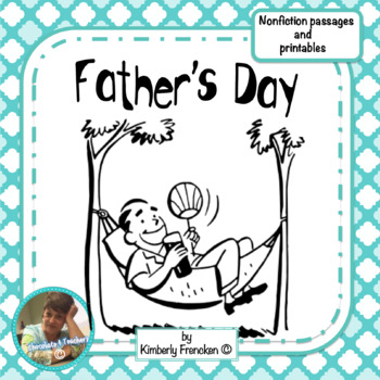 Father's Day  Nonfiction Passages and Printables