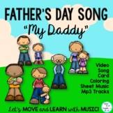 "Father's Day Original Song ""My Daddy"" Card Activity, Mp3"