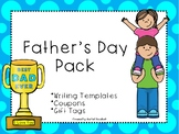 Father's Day Pack - Writing Templates / Coupons / Gift Tags