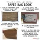 Father's Day Paper Bag Book