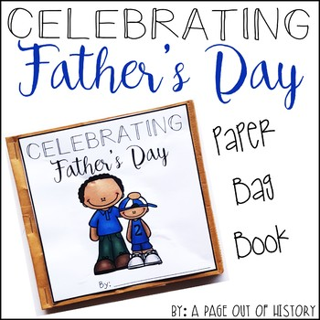 Father's Day Paper Bag Book - Holidays Paper Bag Books