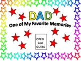 "Father's Day ""Reveal"" Card"