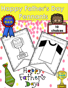 Father's Day Pennants Craft