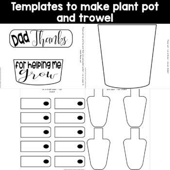 Father's Day Plant Pot Craft