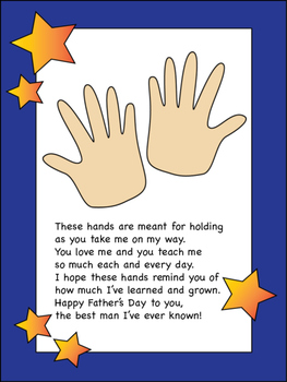 Father's Day Poem/Gift