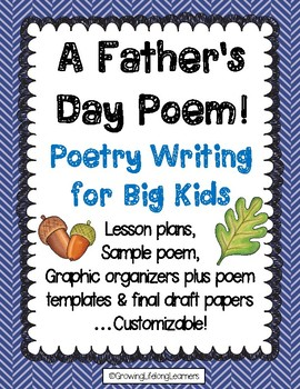Father's Day Poetry Writing for Big Kids