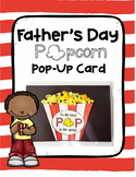 Father's Day Popcorn Pop Up Card