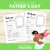 Father's Day Poster - La fête des Pères