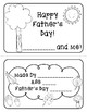 Happy Father's Day! (Draw & Write Booklets, Printable Cards, Frame-ables!)