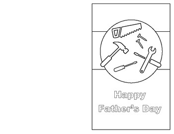 image relating to Father's Day Printable Cards identify Fathers Working day Printable Playing cards