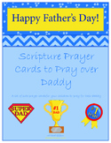 Father's Day Printable Prayer Cards for kids