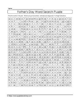 Father's Day Puzzle Bundle - OVER 100 Unique Puzzles