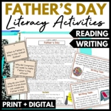 Father's Day Reading and Writing Activities