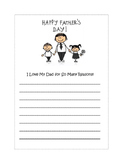 Father's Day Stationery
