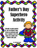 Father's Day Superhero Activity