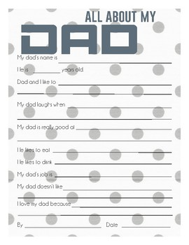 Father's Day Survey