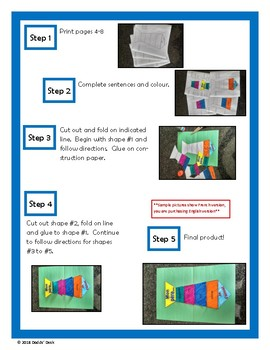 Father's Day Tie Activity - Writing and Art