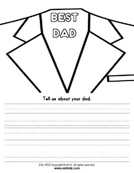 Father's Day Tie Card Activity