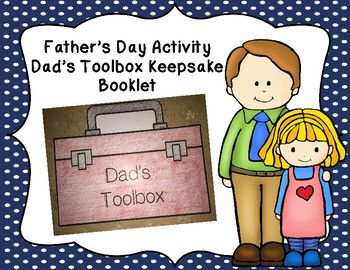 Father's Day Toolbox Writing Craftivity