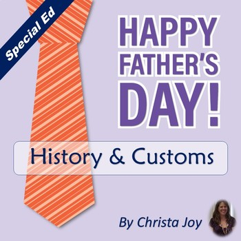 Father's Day Unit for Special Education
