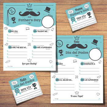 Father's Day VIP Card and Coupons BUNDLE
