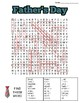 Father's Day Word Search: 3 Difficulties