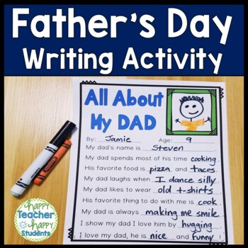 e67c879d Fathers Day Writing Worksheets & Teaching Resources   TpT
