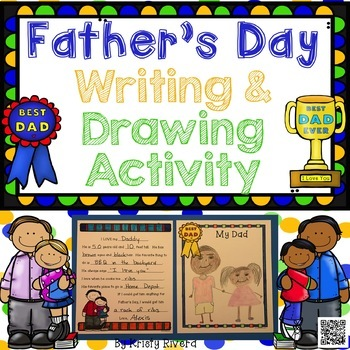 Father's Day Writing & Drawing Activity