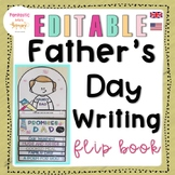 Father's Day Writing : Easy Craft Flip Book