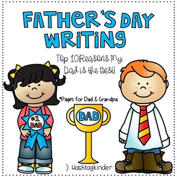 Father's Day Writing - Kid Made!