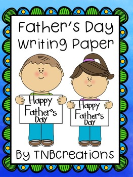Father's Day Writing Paper
