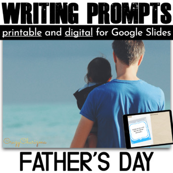 Father's Day Writing Prompts {36 cards}