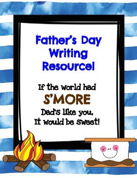 Father's Day Writing Resource