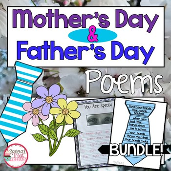Father's Day and Mother's Day Poem Bundle