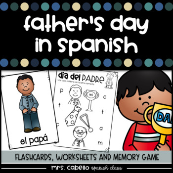 Father's Day in Spanish Activity Pack - Dia del Padre