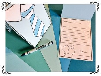 Father's Love {Coupons, Card, and Writing}